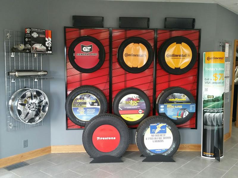 Tire Display